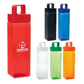 Promotional 27 Oz Shatter Resistant Square Reusable Water Bottle