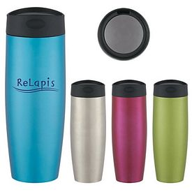 Customized 16 Oz Metallic Sorbet Stainless Steel Tumbler