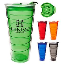 Customized 17 Oz Current Slide Lid Tumbler