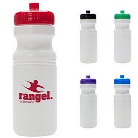 Promotional 24 Oz Plastic Water Bottle