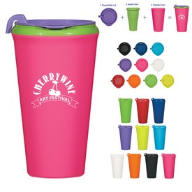 Promotional 16 Oz Infinity Mix-And-Match Tumbler