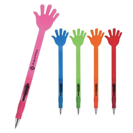 Promotional Hello Hi-Five Hand Pen