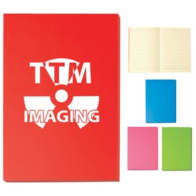 Promotional 5 X 7 Color Block Notebook