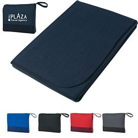 Promotional Travel Foldable Blanket