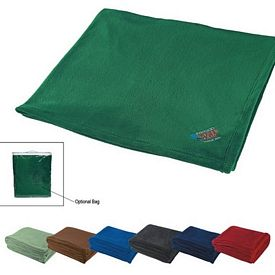 Promotional Chenille Embroidered Blanket