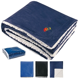 Customized Sherpa 60X50 Winter Blanket