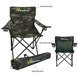 Promotional Camouflage Folding Chair