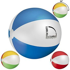 Customized 24 Multi Colored Beach Ball