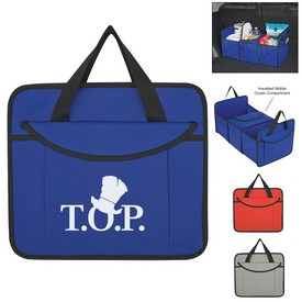 Customized Non-Woven Trunk Organizer With Kooler