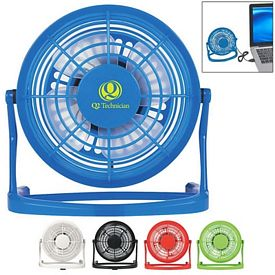 Promotional Usb Plug-In Desk Fan