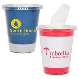 Custom Perfect Travel Tissue Cup