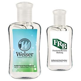 Customized 3 Oz Hand Sanitizer Fashion Bottle