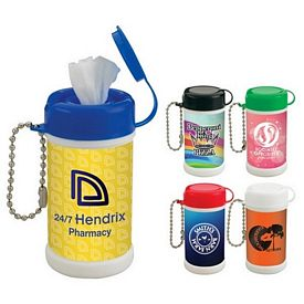 Promotional Pocket Size Wet Wipe Canister