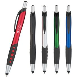 Promotional Dotted Grip Stylus Pen
