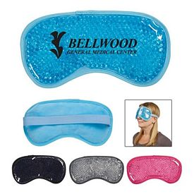 Promotional Plush Gel Beads Hot Cold Eye Mask