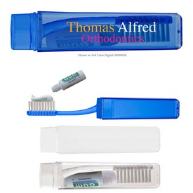 Promotional Travel Toothbrush With Toothpaste
