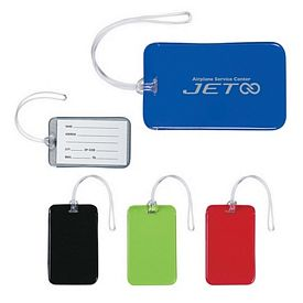 Promotional Journey Luggage Tag