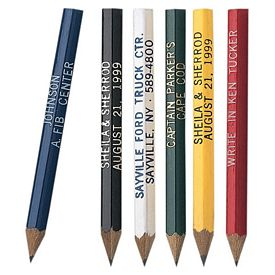 Promotional Hex Golf Pencil