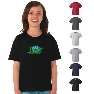 Promotional Fruit Of The Loom 5 Oz Cotton Youth T-Shirt