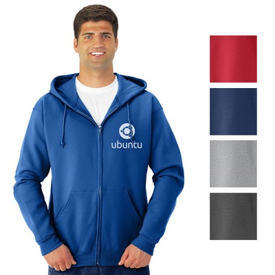 Promotional Jerzees Nublend Full-Zip Hooded Sweatshirt