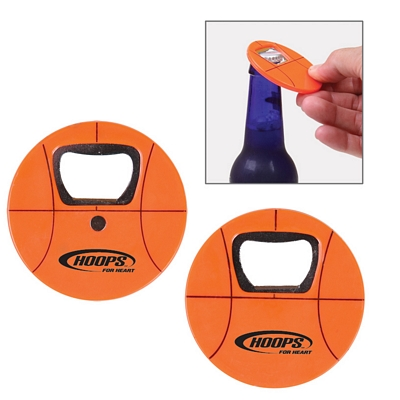 Promotional Basketball Bottle Opener