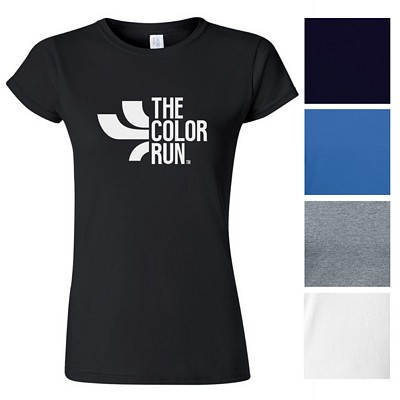 Promotional Gildan 53 Oz Heavy Cotton Ladies T-Shirt