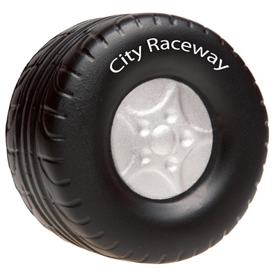 Promotional Tire Advertising Stress Reliever