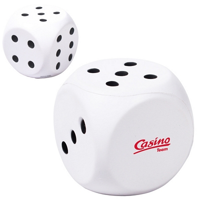Promotional Dice Advertising Stress Reliever