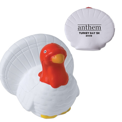 Promotional Turkey Advertising Stress Reliever