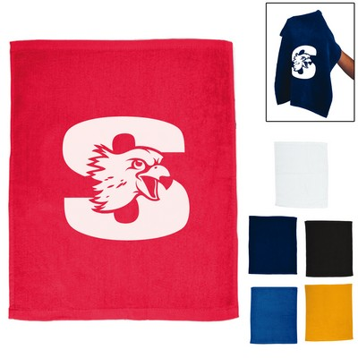 Promotional 15X16 Rally Sports Towel