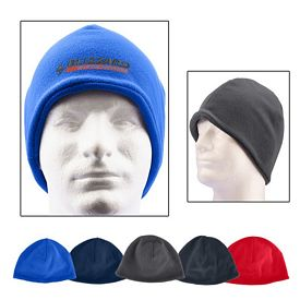 Customized Polyester Fleece Beanie
