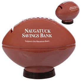 Promotional Football Coin Bank