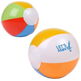 Promotional 6 Multi Colored Beach Ball