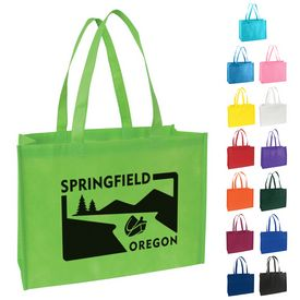 Promotional Standard Nonwoven Tote Bag With Gusset