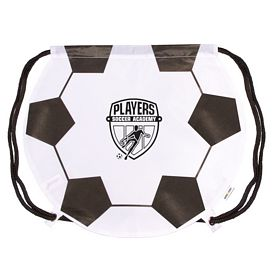 Customized Gametime Soccer Drawstring Backpack