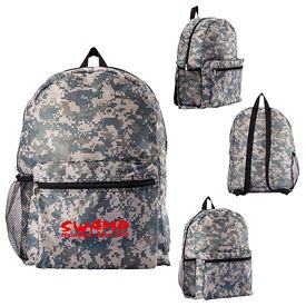 Promotional Digital Camouflage Backpack