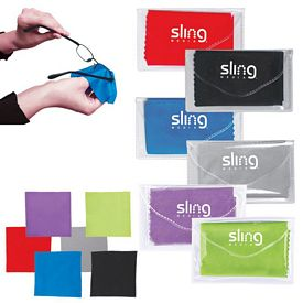 Customized Microfiber Cleaner Cloth Pouch
