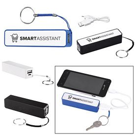 Promotional Cube Key Chain Power Bank Charger