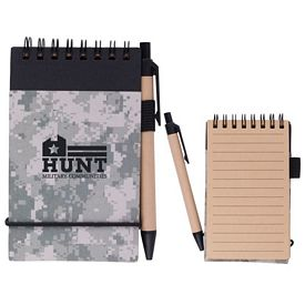 Promotional Digital Camo Jotter