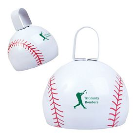 Promotional Baseball Cow Bell