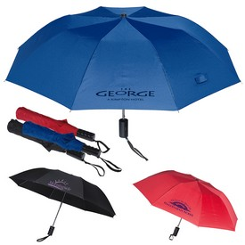 Customized 42 Auto Opening Folding Umbrella