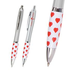 Customized Heart Healthcare Theme Emissary Click Pen