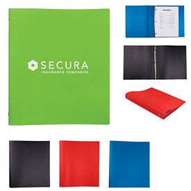 Custom Polypropylene 3 Ring Binder