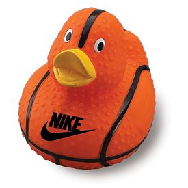Custom Basketball Rubber Duck