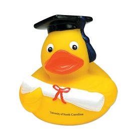Customized Graduate Rubber Duck