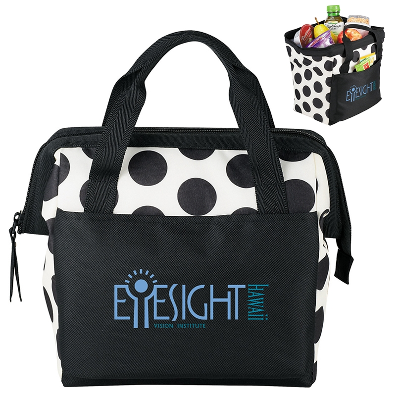 promotional arctic zone muscari fresh bowler lunch bag