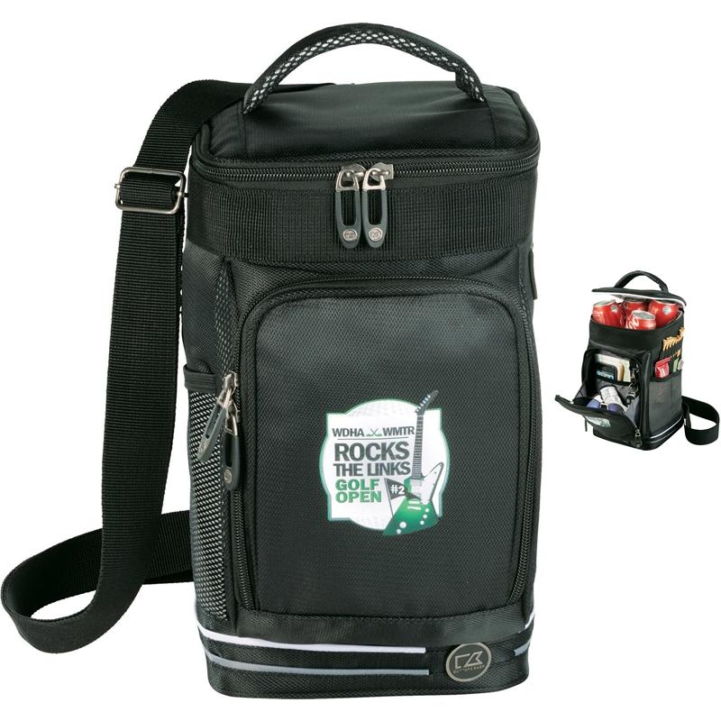Golf Bag Cooler : Promotional cutter buck tour golf bag cooler