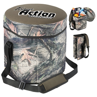 Promotional Hunt Valley Camouflage Cooler Seat