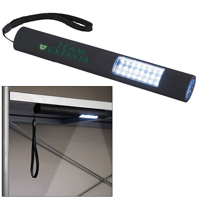 Promotional Garrity Slim and Bright Magnetic LED Flashlight