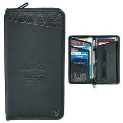Custom Elleven Traverse Rfid Travel Wallet